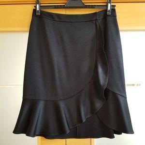 Exclusive Bloomingdale's Wrap Style Mini Skirt